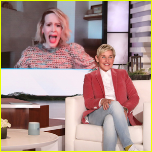 Ellen DeGeneres Manages to Scare Sarah Paulson During Her Virtual Interview - Watch!