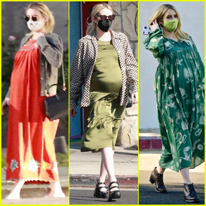 Emma Roberts Is Showing Off Her Cool Pregnancy Style!