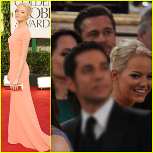 Emma Stone Looks Back at Sitting Next to Brangelina at Her First Golden Globes in 2011