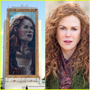 A Giant 18-Story Portrait of Nicole Kidman Was Painted in Australia & She Saw It In Person!