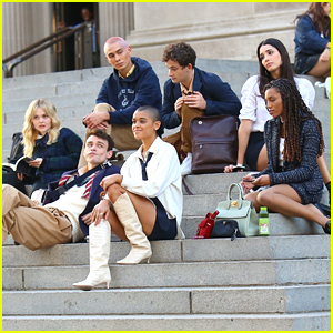The Cast of 'Gossip Girl' Film All Together At Metropolitan Museum of Art (Photos)