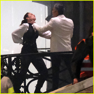 Hayley Atwell Films Intense Fight Scene with Esai Morales for 'Mission: Impossible 7'