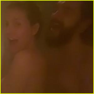 Heidi Klum Shares Steamy Video In the Shower with Husband Tom Kaulitz - Watch!