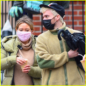 Pregnant Hilary Duff & Husband Matthew Koma Step Out for Breakfast in NYC
