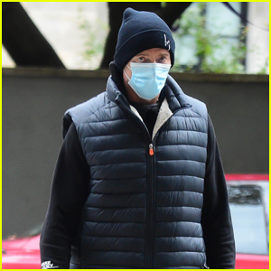 Hugh Jackman Bundles Up Heading to Early Morning Workout in NYC
