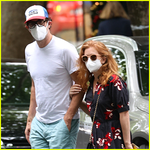 Isla Fisher & Sacha Baron Cohen Spotted on a Stroll in Sydney!