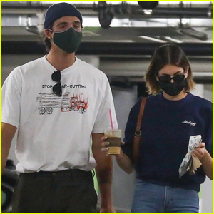 Kaia Gerber & Boyfriend Jacob Elordi Buy Some Treats for Her Dog Milo at the Pet Store!