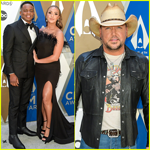 Jason Aldean, Jimmie Allen, & More Step Out for CMA Awards 2020 in Nashville!