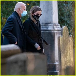 Joe Biden Visits Son Beau's Grave Site on Election Day 2020