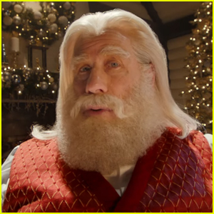 John Travolta Appears as Santa Claus in Capital One's Christmas Commerical - Watch!