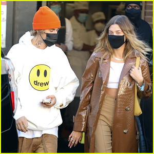 Justin Bieber Grabs Lunch with Hailey Ahead of His Song Release