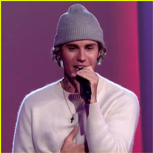 Justin Bieber Performs His Two New Songs 'Lonely' & 'Holy' at People's Choice Awards 2020 - Watch!