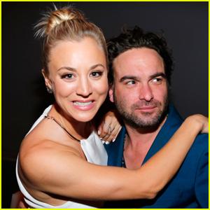 Kaley Cuoco Talks Filming 'Big Bang Theory' Love Scenes with Ex Johnny Galecki