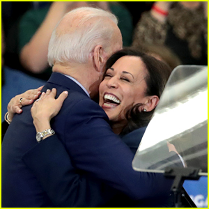 Kamala Harris Shares Video from Her Phone Call with Joe Biden After Winning Election