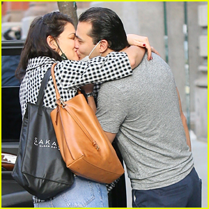 Katie Holmes & Emilio Vitolo Pack on the PDA Before She Leaves For Trip Out Of Town