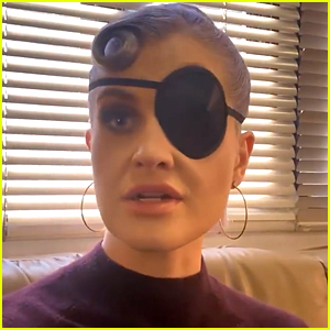 Kelly Osbourne Is Wearing An Eye Patch & Blames 2020 For It