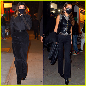 Kendall Jenner & Bella Hadid Look So Chic While Out for Dinner in NYC