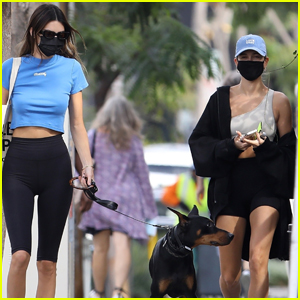 Kendall Jenner Grabs Lunch with Hailey Bieber After Turning 25