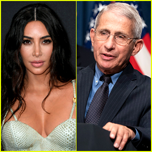 Kim Kardashian Organized a Zoom Call with Dr. Fauci & Lots of A-List Stars Back in April