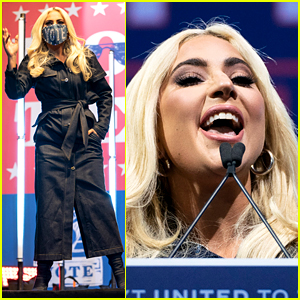 Lady Gaga Urges People to Vote for Joe Biden at Pre-Election Rally in Pittsburgh (Video)