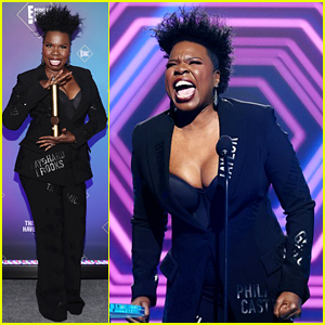 Leslie Jones Was Definitely the Most Excited Winner at the People's Choice Awards 2020! (Video)