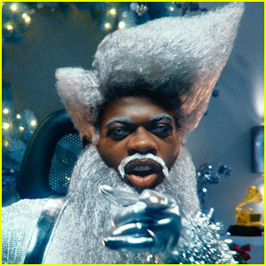 Lil Nas X Transforms Into Santa Claus in 'Holiday' Music Video - Read the Lyrics & Watch the Video!