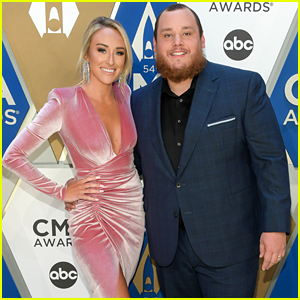 Luke Combs' Wife Nicole Hocking Joins Him at CMA Awards 2020 - See Red Carpet Pics!