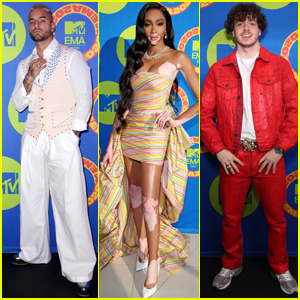 Maluma, Winnie Harlow, & Jack Harlow Dress to Impress for MTV EMAs 2020