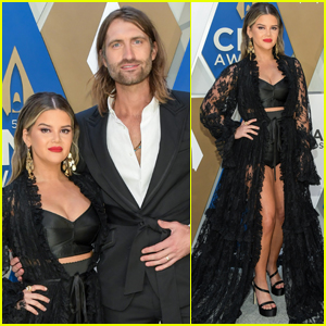 Maren Morris Shows Off Major Leg Arriving at CMA Awards 2020 with Hubby Ryan Hurd