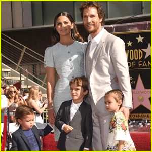 Matthew McConaughey Shares Rare & Adorable Video of His Kids on His 51st Birthday!