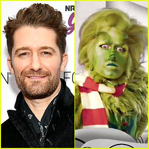You've Gotta See How Twitter Reacted to Matthew Morrison as The Grinch