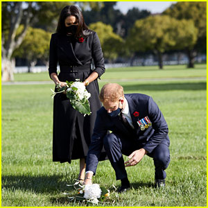 Prince Harry & Meghan Markle Take Part In Private Remembrance Day Event in Los Angeles