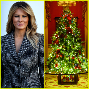 Melania Trump Unveils White House Christmas Decorations & Immediately Faces Backlash Over Her Past Comments
