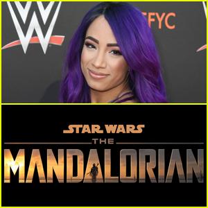 'The Mandalorian' Cast WWE Star Sasha Banks After Sending Her An Instagram Message