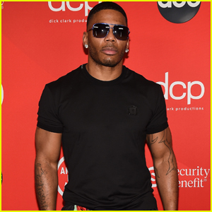 Nelly Rocks Shades on the Red Carpet at American Music Awards 2020