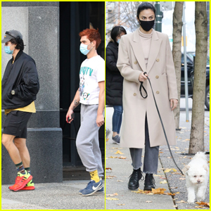KJ Apa, Charles Melton & Camila Mendes Take a Day Off From Filming 'Riverdale'