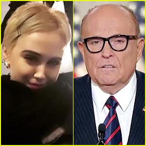 Borat's Maria Bakalova Reveals Her Opinion Of That Controversial Rudy Giuliani Scene