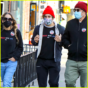 Sarah Jessica Parker & Matthew Broderick Take Son James, 18, to Vote for First Time!