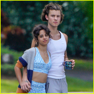 Shawn Mendes & Camila Cabello Keep Close During Their Sunday Stroll in Florida