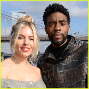 Sienna Miller Opens Up About Chadwick Boseman Giving Up Part of His '21 Bridges' Salary for Her