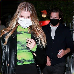 Sofia Richie Grabs Dinner with New Boyfriend Matthew Morton in Santa Monica