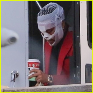 The Weeknd's Head is Covered with Bandages While Filming New Music Video in L.A.