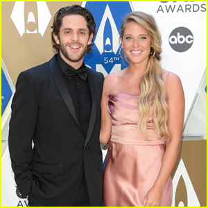 Thomas Rhett & Wife Lauren Akins Couple Up for Date Night at CMA Awards 2020
