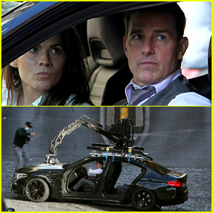 Tom Cruise Has Cameras All Over His Car for Thanksgiving Day Shoot on 'Mission: Impossible 7' Set