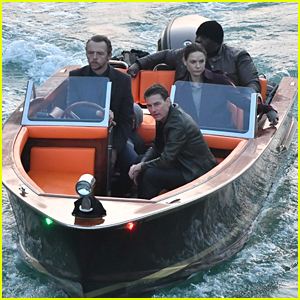Tom Cruise & His 'Mission: Impossible' Crew Ride a Boat in Venice for Final Scenes