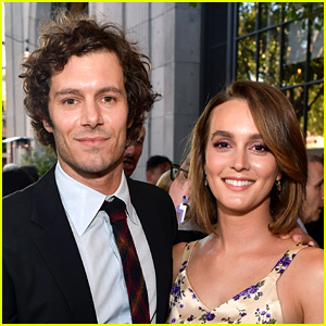 Adam Brody Talks About Surfing with Wife Leighton Meester, Plus the Twitter Time Limit She Gave Him