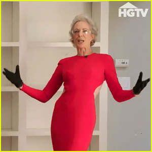 Allison Janney Shocks Property Brothers With Her Dramatic Renovation Outfit - See the Trailer Here!