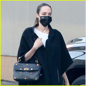 Angelina Jolie Goes Shopping With Son Knox in LA