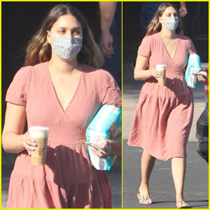 April Love Geary Heads Out on a Diaper Run After Welcoming Baby No. 3 with Robin Thicke