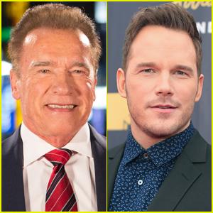 Arnold Schwarzenegger Gushes About Having Chris Pratt as a Son-in-Law
